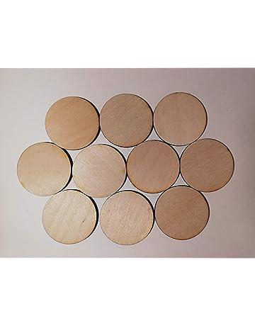 MDF 3mm LASER Sottobicchieri quadrati o CERCHI confezioni da 5 10 15 20 25 o 50