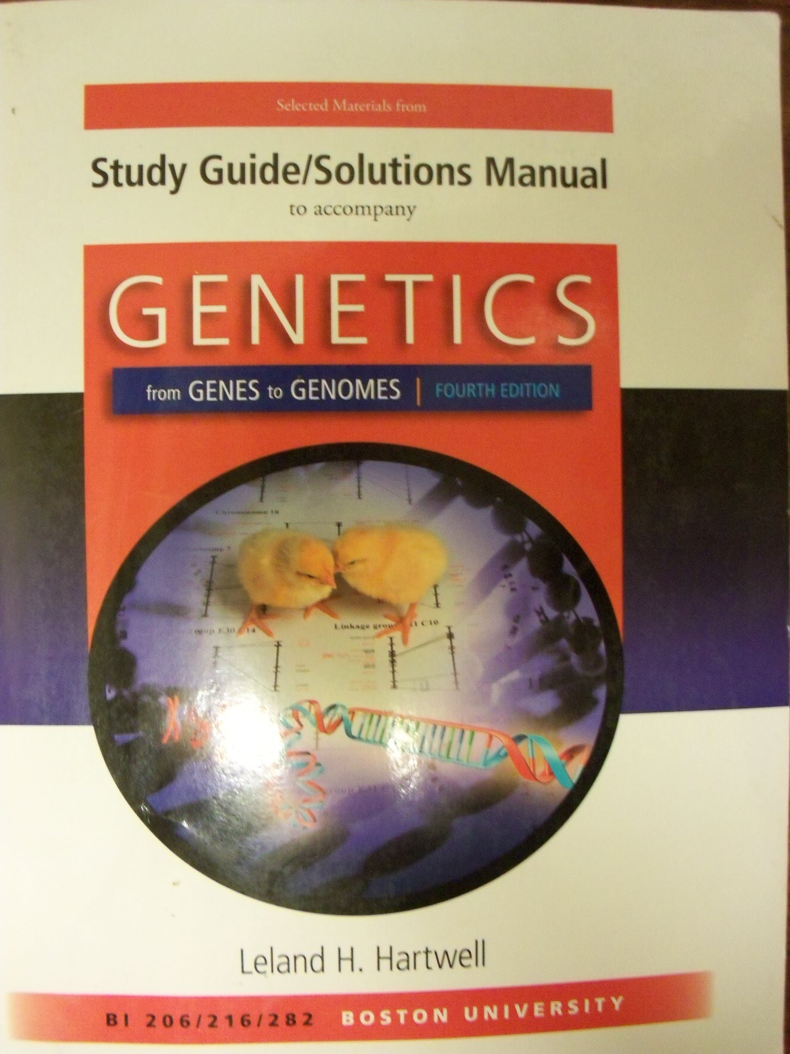 Study Guide/solutions Manual to Accompany Genetics: From Genes to Genomes  (Custom for Boston University): Jessica Portz: 9780077490096: Amazon.com:  Books