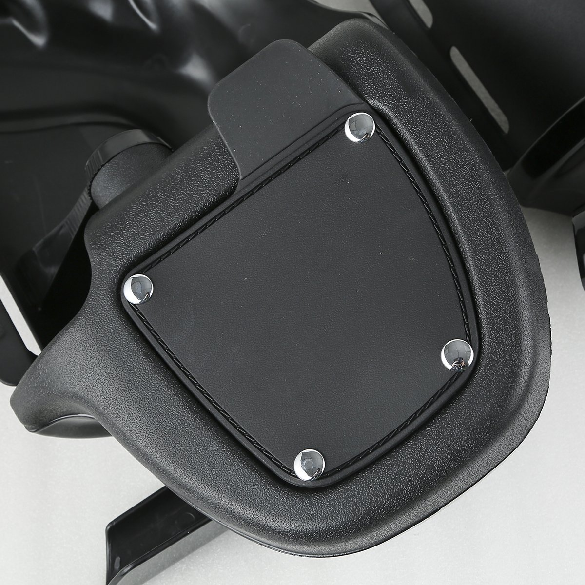 XMT-MOTO Black Lower Vented Leg Fairings Cap Glove Box For Harley-Davidson Touring Models 1983-2013 by XMT-MOTO (Image #5)
