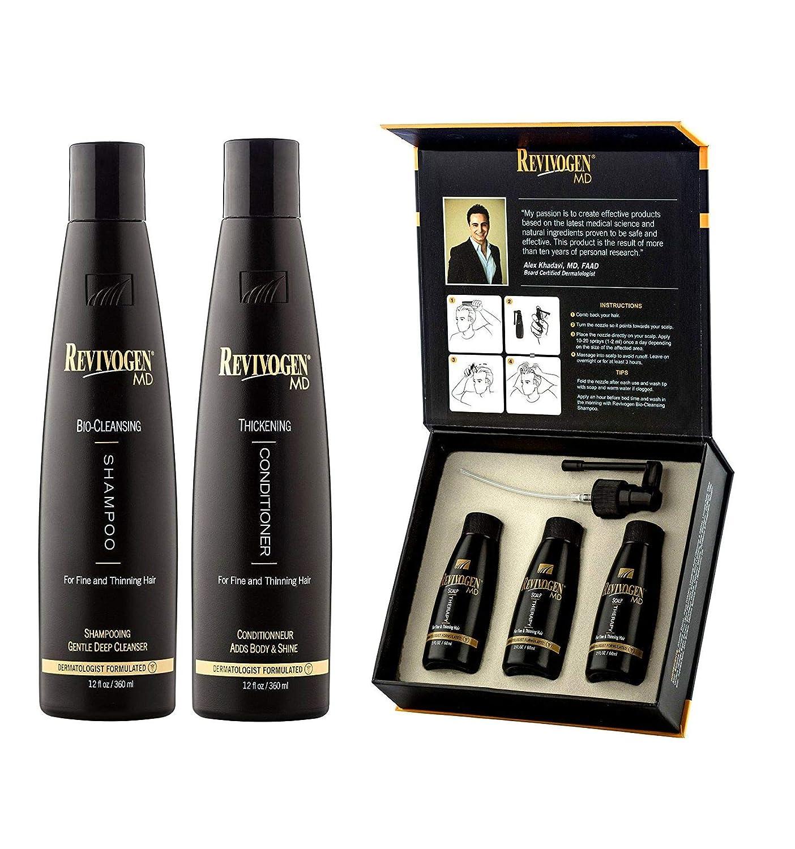 champú MD bio-shampoo + Conditioner + loción anticaída cabello ...