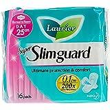 Laurier Super Slimguard Day, 25cm, 16ct