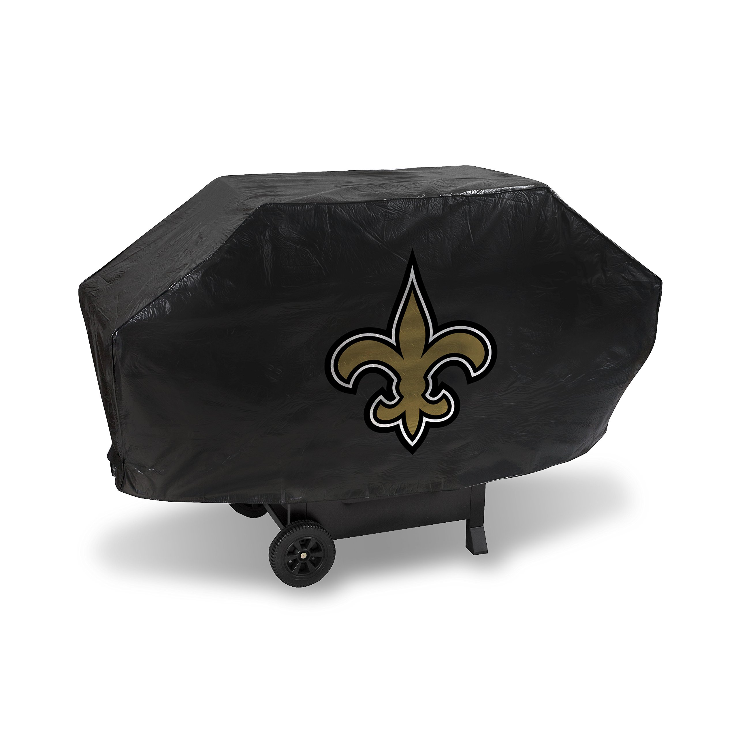 Rico Industries NFL New Orleans Saints Vinyl Padded Deluxe Grill Cover
