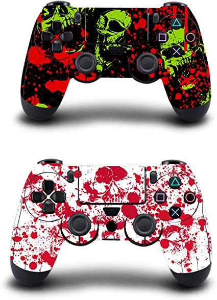 KINGWON Skin Sticker para mandos Playstation 4, calcomanías para ...