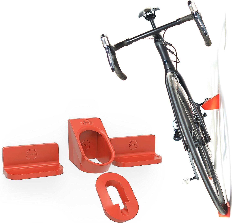 Cycloc Super Hero Indoor Bicycle Holder Montado en Pared Blanco ...