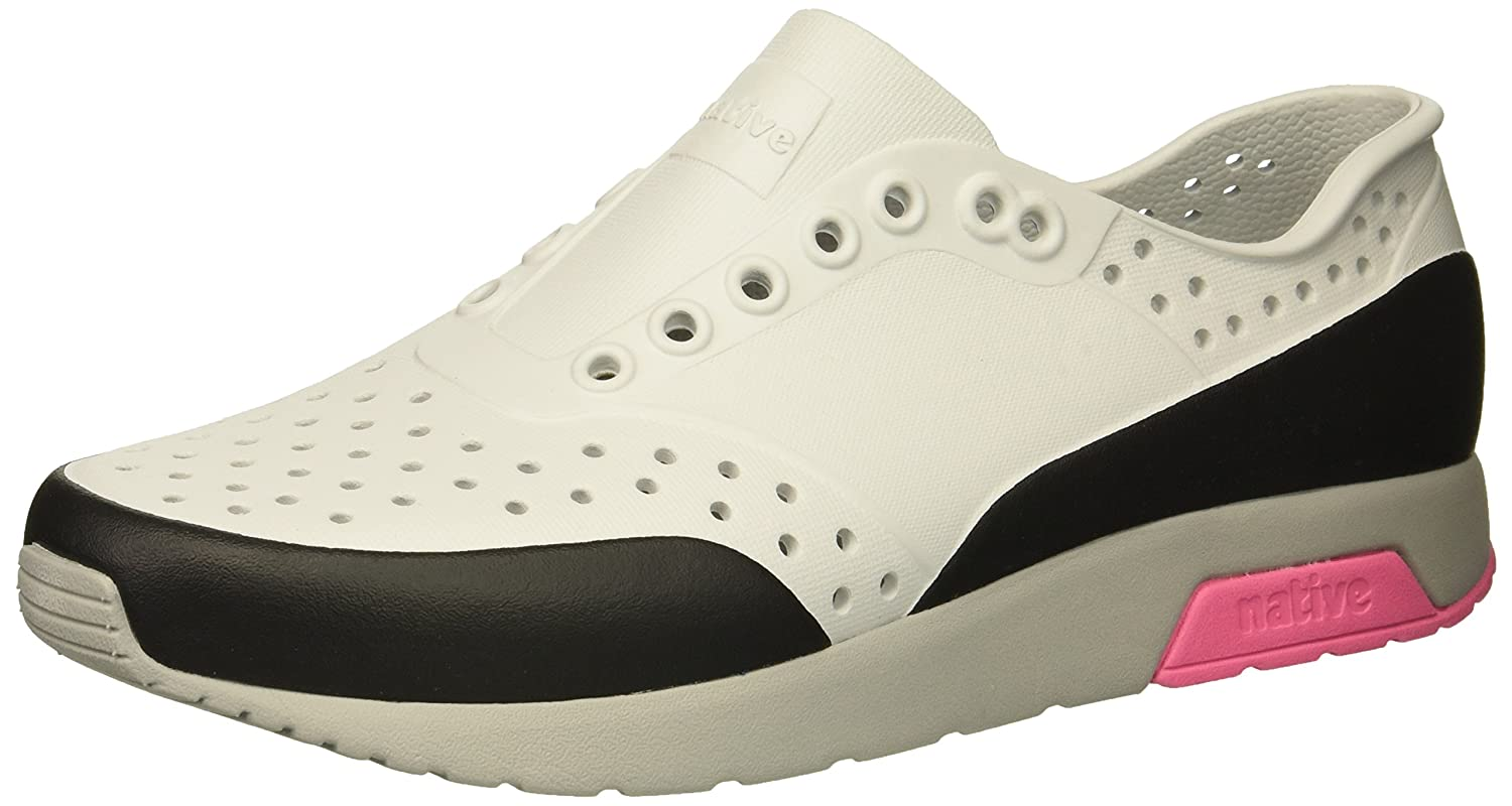 native Men's Lennox Water Shoe B072136D7N 7 Men's (9 B US Women's) M US|Mist Grey/Pigeon Grey/Hollywood Pink/Jiffy Block