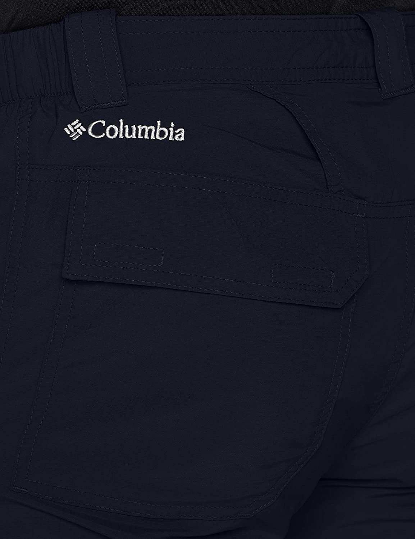 Columbia Men's Cargo Shorts, Silver Ridge II Cargo Short, Nylon Black (Abyss)