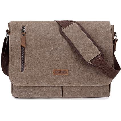 6da490080fbc 14 Inch Laptop Messenger Bag for Men and Women