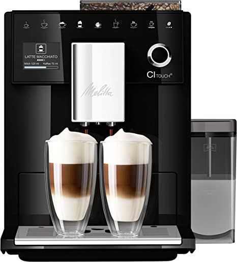 Melitta Ci Touch F630 102 Bean To Cup Coffee Machine 1400 W 18 Litres Black