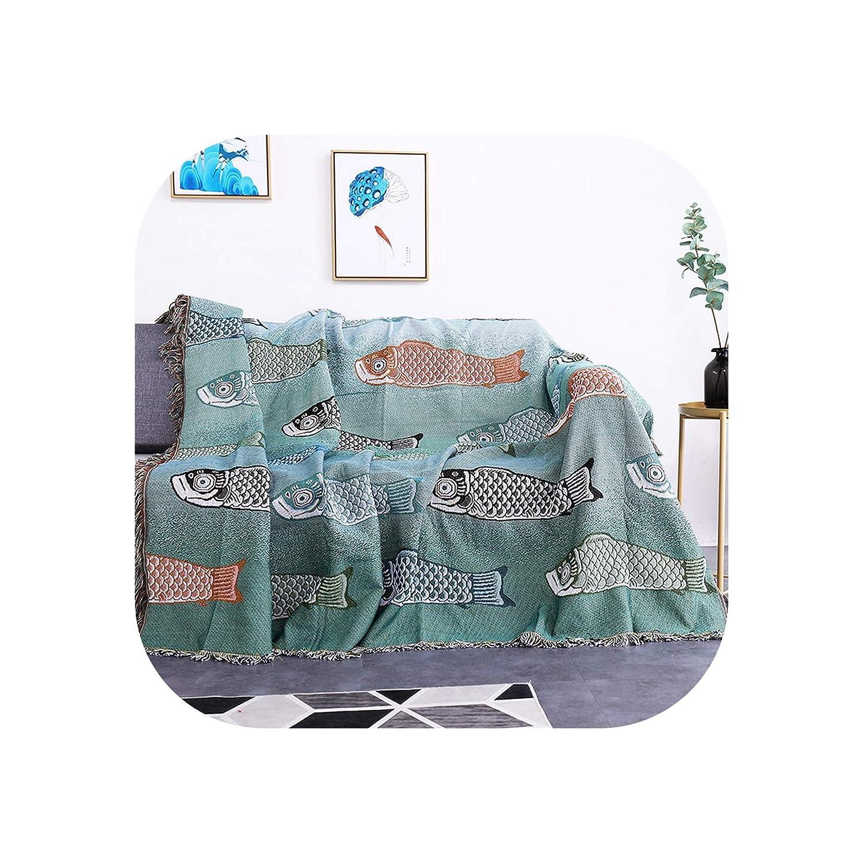 Amazon.com: Multicolor Throw Blanket Housewarming Gift ...