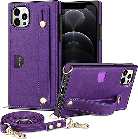Amazon.com: WOLLONY Case Compatible with iPhone 12/12 Pro (6.1 ...