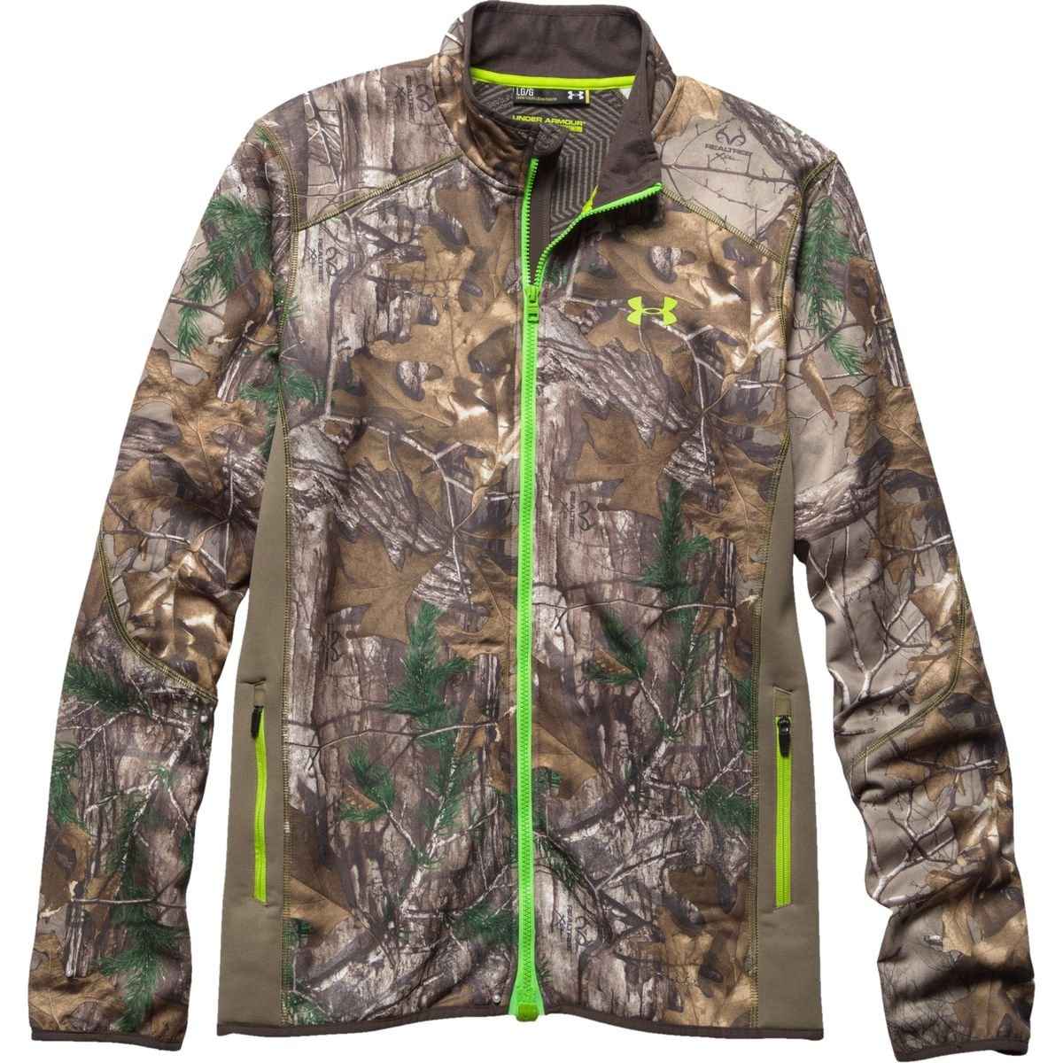 ebe64d001f293 Amazon.com: Under Armour Coldgear Infrared Scent Control Fleece Full Zip  Jacket - Men's: Sports & Outdoors