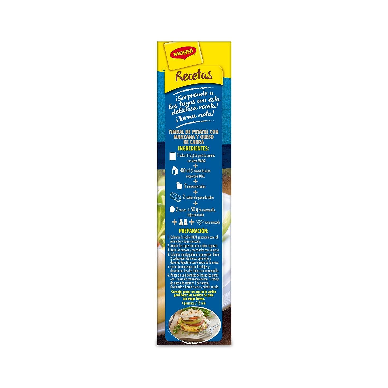 Maggi - Puré De Patatas Con Leche - 230 g: Amazon.es: Alimentación y bebidas