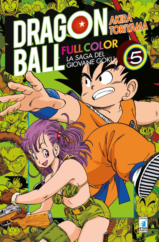 La saga del giovane Goku. Dragon Ball full color: 5 Copertina flessibile – 23 mag 2018 Akira Toriyama M. Riminucci Star Comics 8822609514