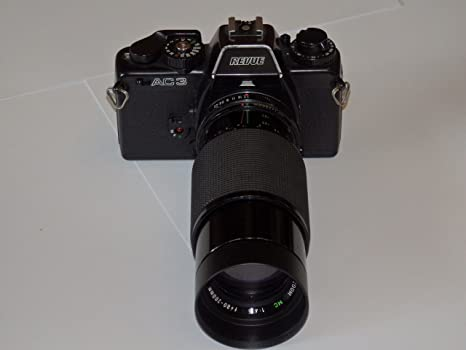 Revue AC3 SLR – Pantalla pequeña cámara réflex con Objetivo de ...
