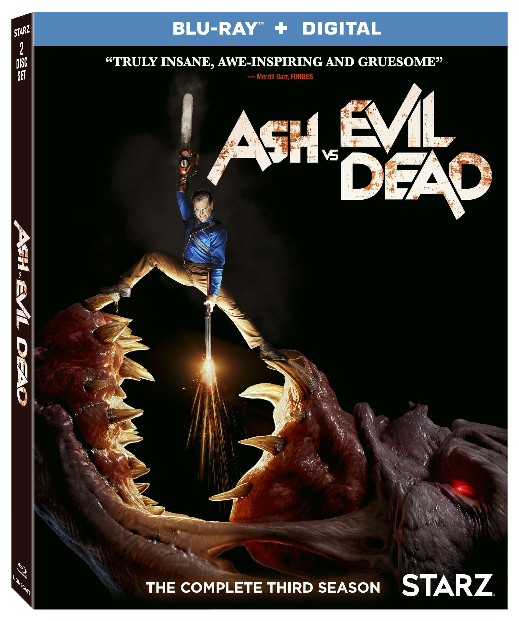 Blu-ray : Ash Vs. Evil Dead: Season 3 (Digital Copy, Widescreen, Dubbed, Dolby, 2 Pack)