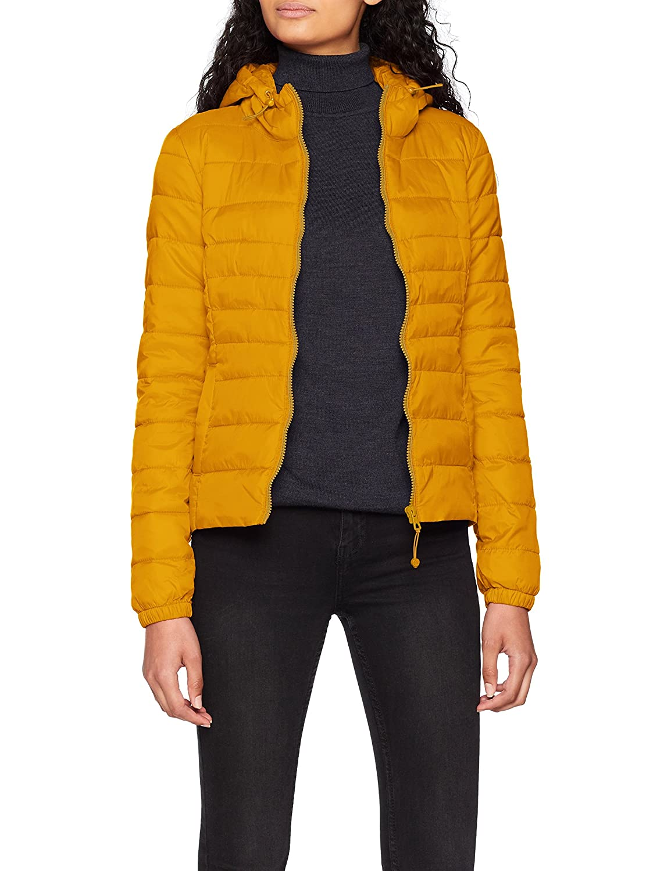 ONLY NOS Onltahoe Hood Jacket Otw Noos Chaqueta, Amarillo Golden Yellow, Medium para Mujer