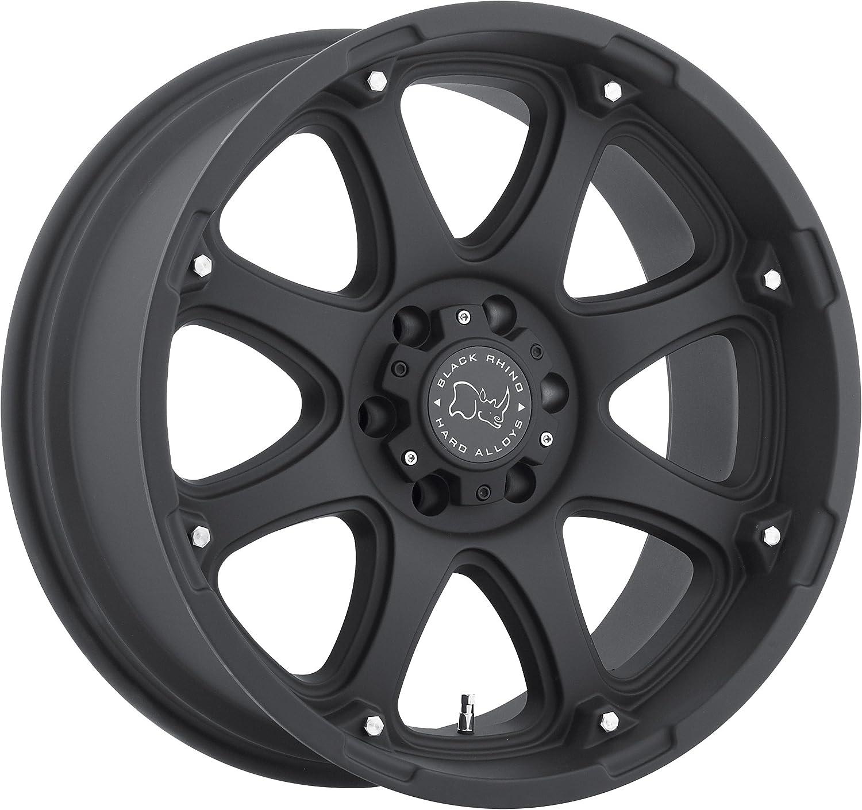 BLACK RHINO GLAMIS 17x9.0 6//139.7 ET12 CB112.1 MATTE BLACK