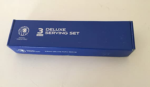 Amazon.com | Deluxe Serving Set 3 Pieces Royal Prestige: Serveware Accessories: Serving Sets