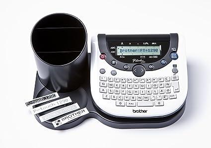 Brother PT-1290DT - Impresora de etiquetas (180 x 180 DPI ...