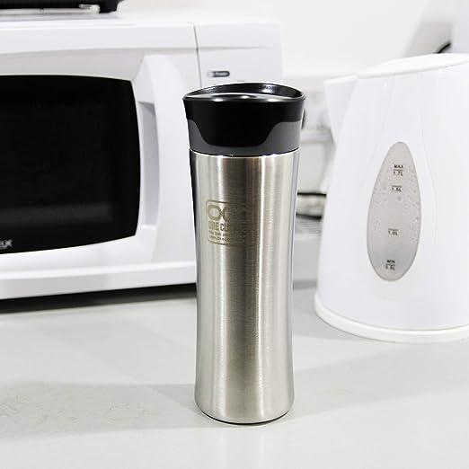 Vaso termico taza de viaje * A prueba de fugas * A prueba de fugas * Vacío aislado * interior y exterior acero inoxidable termo taza * 380 ml * 1 año ...