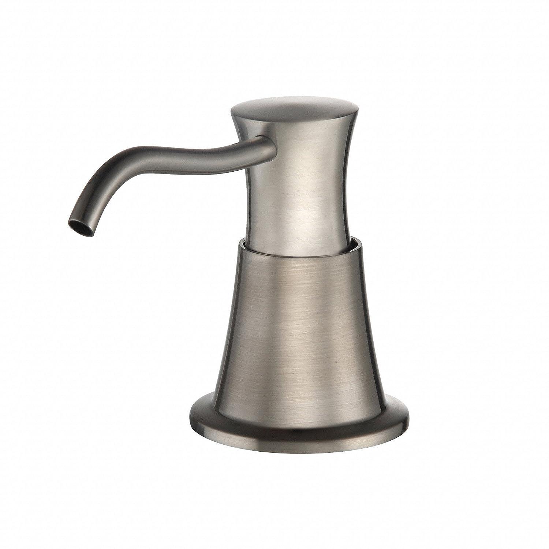 delicate Kraus KSD-33SN Soap Dispenser Satin Nickel