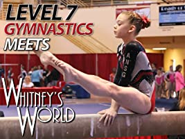 Whitney Bjerken Gymnastics Level 7 Competitions