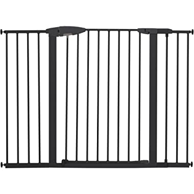 Munchkin Easy Close XL Metal Baby Gate, 29.5  - 51.6  Wide, Black, Model MK0009-111