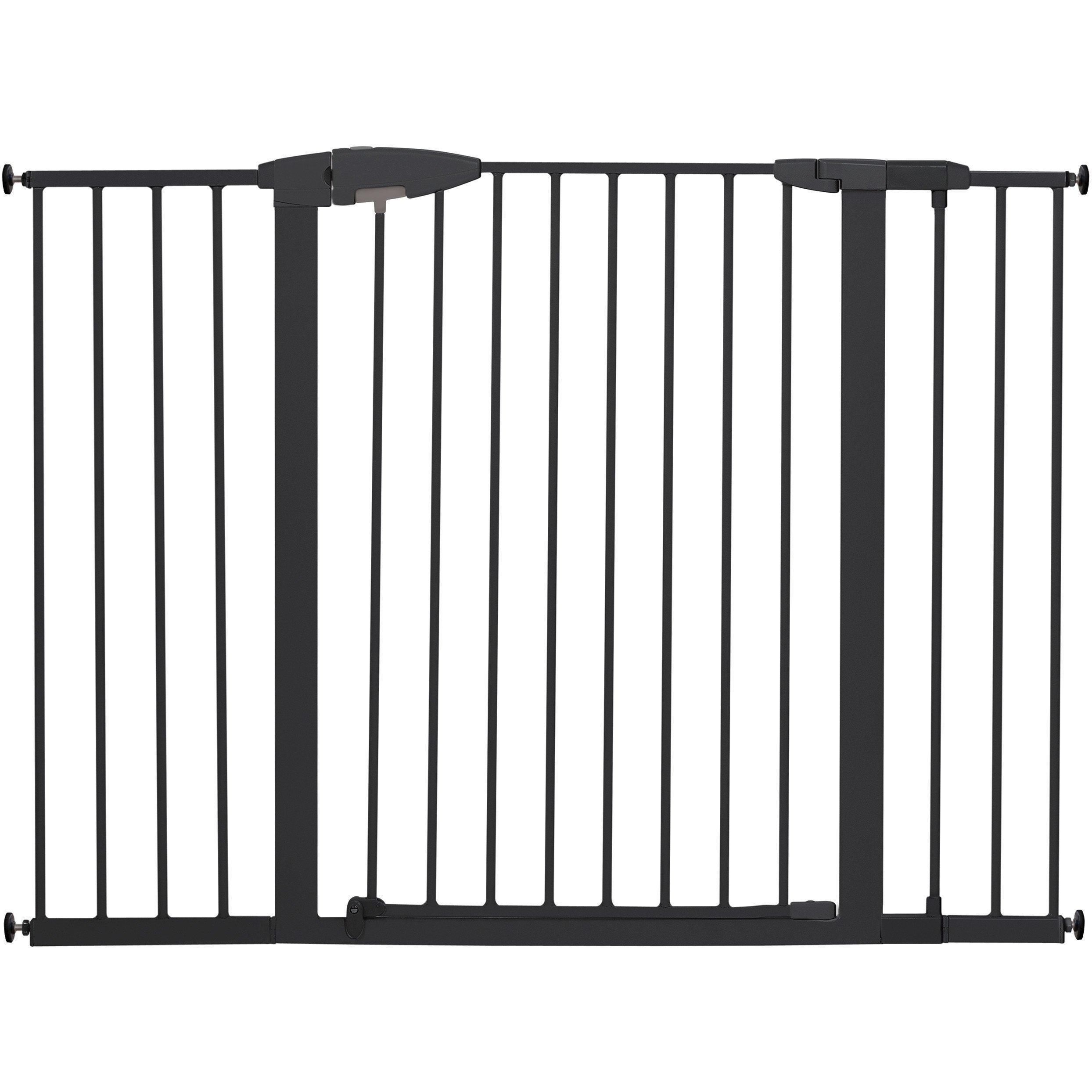Munchkin Easy Close XL Metal Baby Gate, 29.5'' - 51.6'' Wide, Black, Model MK0009-111