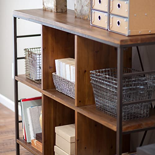 Finley Home Townsend 6-Cube Bookcase