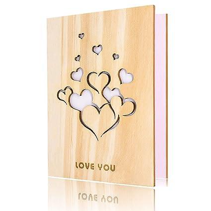 Tarjeta de San Valentín: Amazon.es: Oficina y papelería