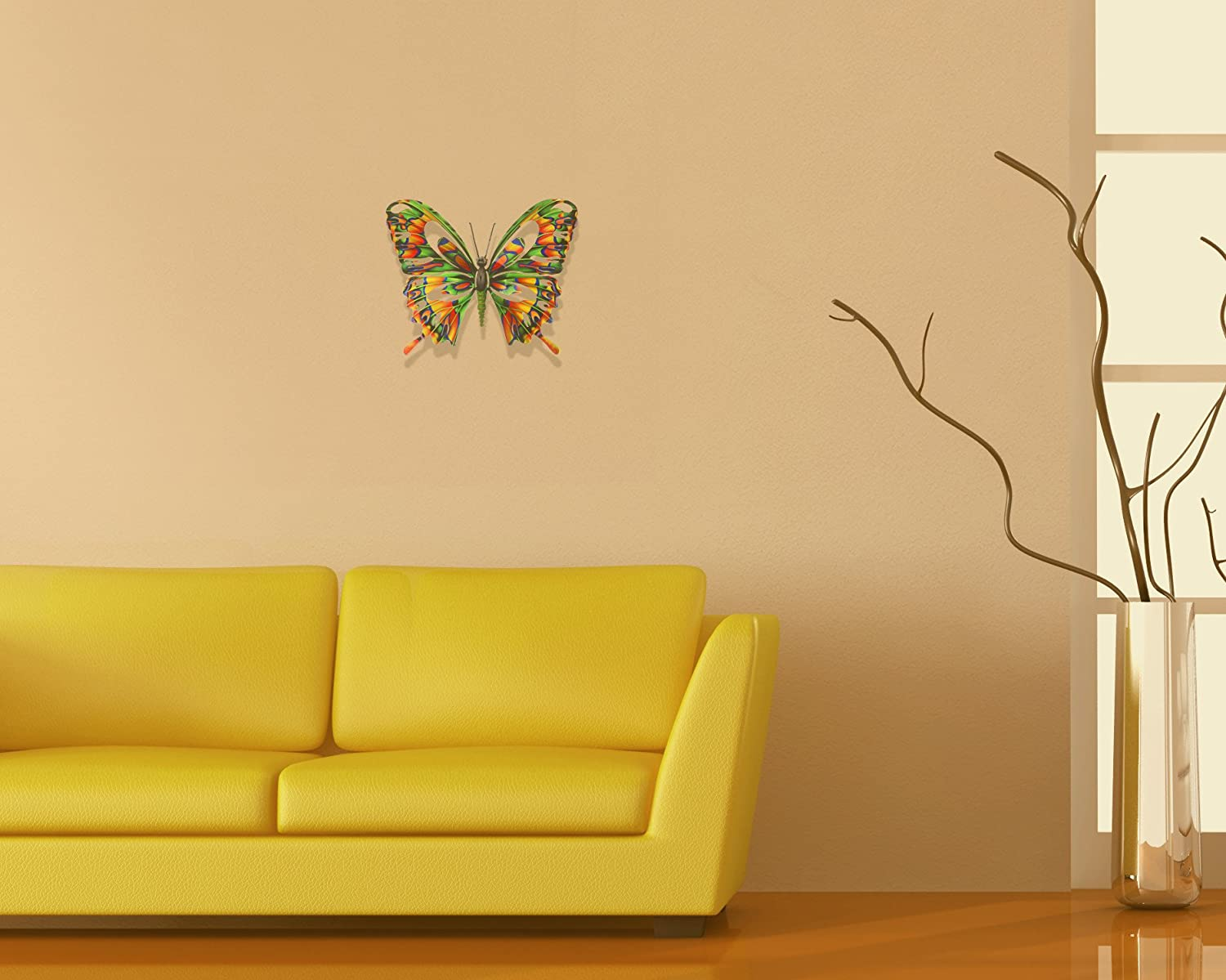 Amazon.com : Next Innovations Butterfly Refraxions 3D Wall Art ...