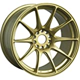 "XXR Wheels 527 Gold Wheel with Painted Finish (18x8""/5x108.5mm, +42mm offset)"