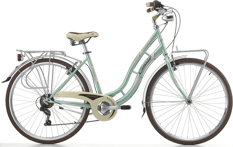 Cicli Cinzia Bicicleta Charleston para Mujeres, Cuadro de Acero, 6 ...