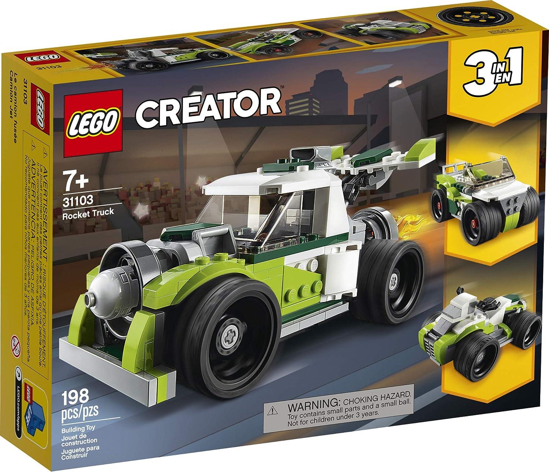Lego Creator 3-in-1 Rocket Truck Building Set 31103