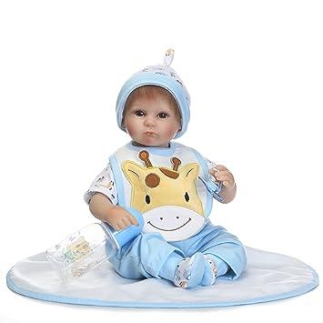 Amazon.com: NPK colección Reborn muñeca bebé vinilo de ...