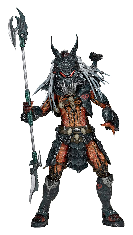 "NECA Predator Scale Deluxe Clan Leader Action Figure, 7"""