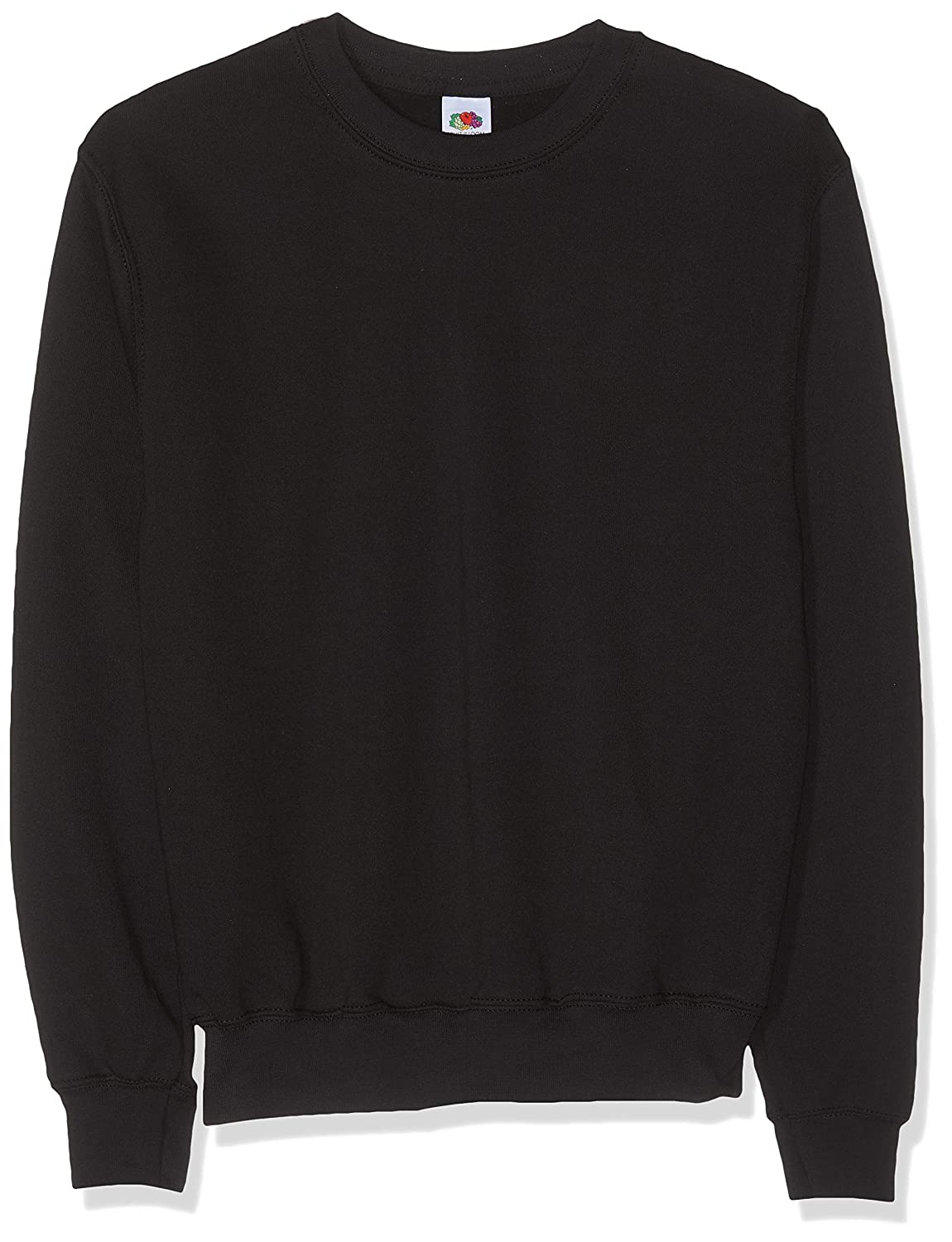 Fruit of the Loom SS027M - Sudadera Hombre, Negro (Black), Large