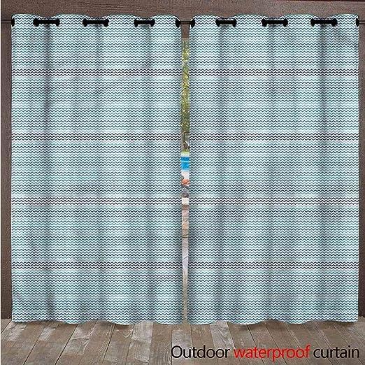 AndyTours Home Patio Cortina de exterior – Cortinas térmicas aislantes a prueba de manchas decoración del hogar
