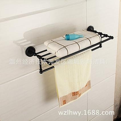 BFDGN Moderno,sencillo y robusto duradero pulido de cobre grifos de lavabo Toalla de baño