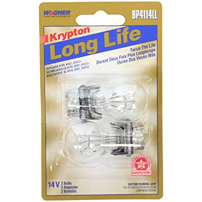 Wagner Lighting BP4114LL Long Life Miniature Bulb - Card of 2: Automotive