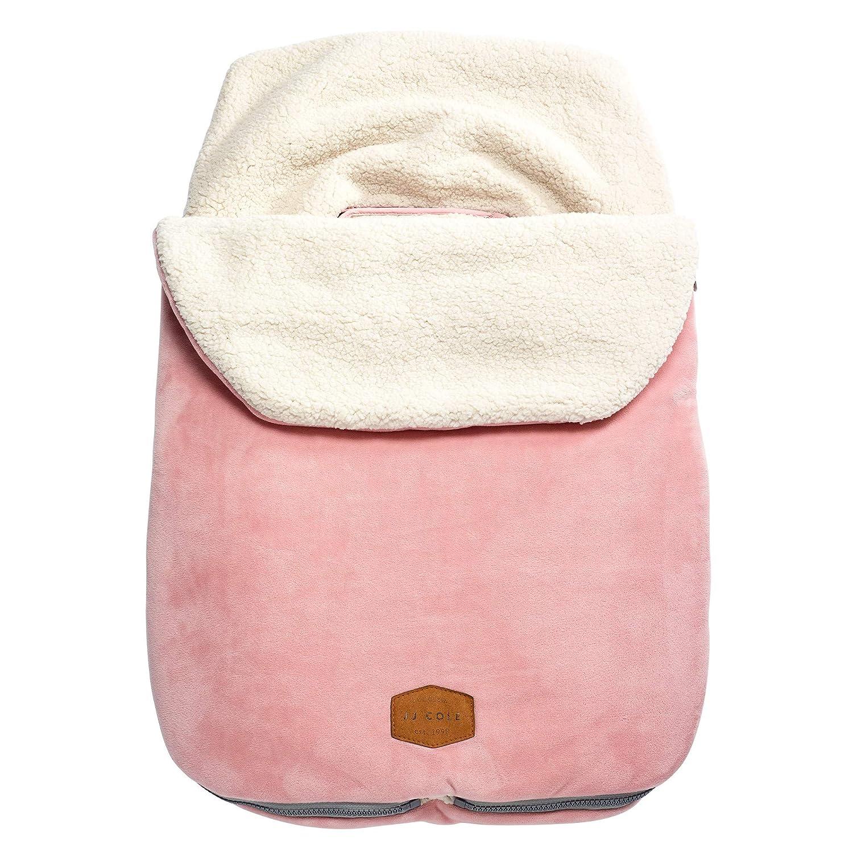 JJ Cole Original Bundleme Canopy Style Bunting Bag, Blush