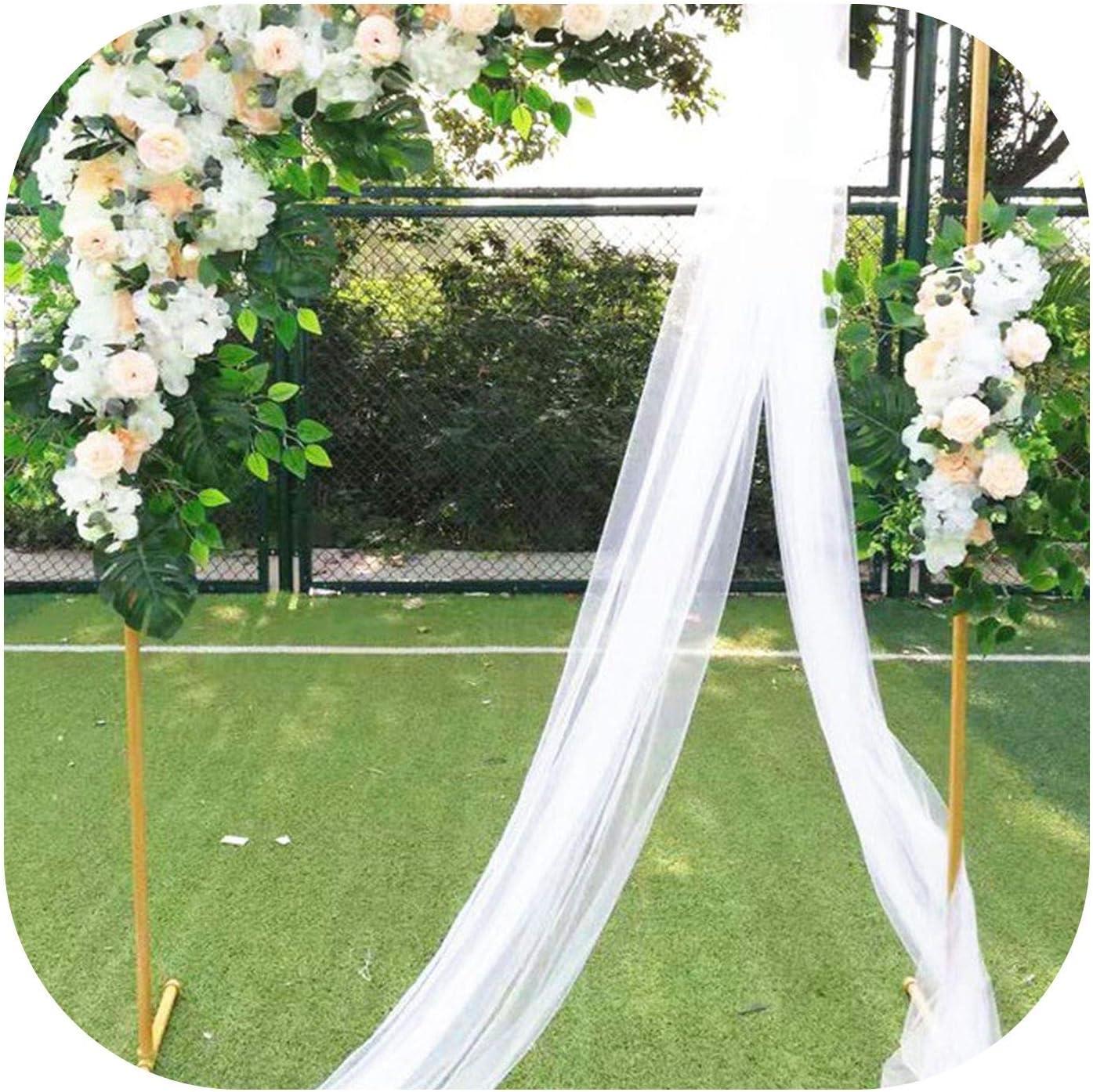 Estante de jardín Cuadrado con Arcos para decoración de Flores ...