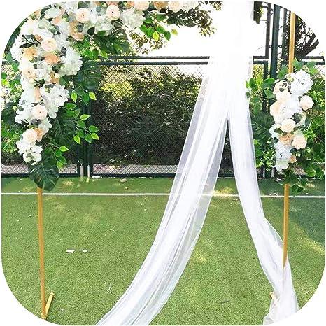 Estante de jardín Cuadrado con Arcos para decoración de Flores Falsas, Arch Sash Flowers, Size: Amazon.es: Hogar