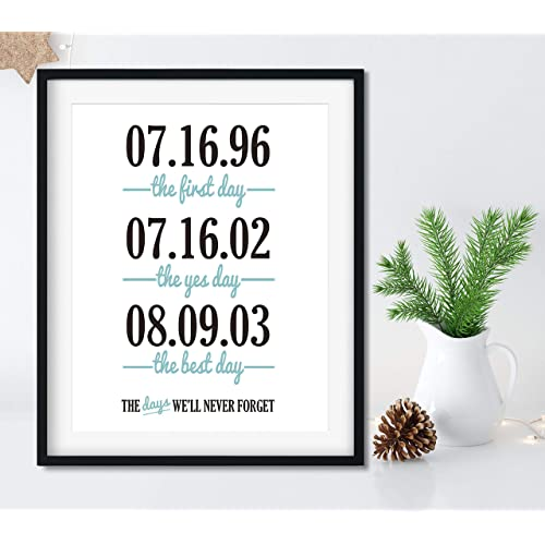 the first yes and best day anniversary gift for husband christmas gifts