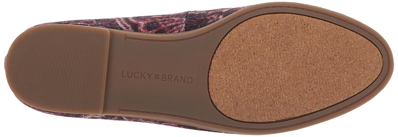 Lucky Brand Women's Carlyn Ballet Flat B01NALGB3C 9.5 B(M) US|Black Multi