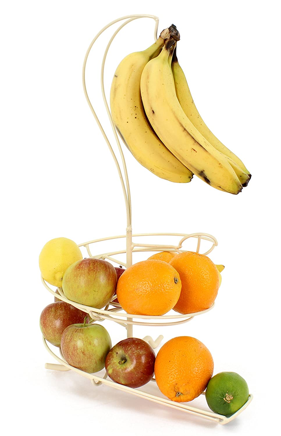 Fruit Skelter Fruit Storage Bowl with Banana Tree in Cream Egg Skelter 8414