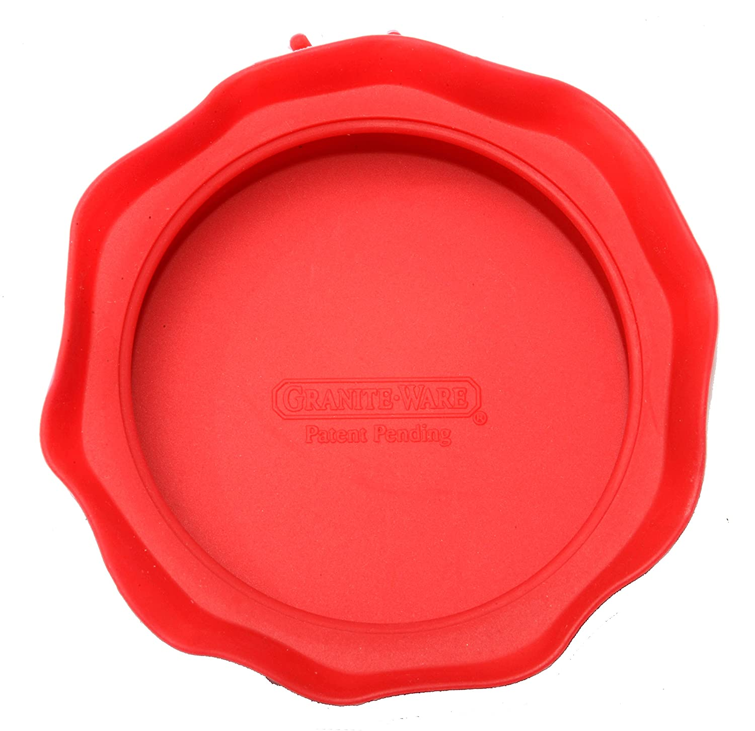 Set of 4 by Granite Ware Red Granite Ware F0723-4 Silicone Jar Toppers