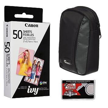 Amazon.com: Canon Zink – Paquete de papel fotográfico (50 ...