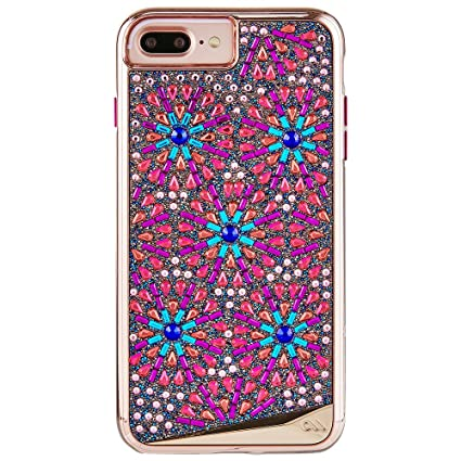 Case-Mate iPhone 8 Plus Case - BRILLIANCE BROOCH - 800+ Genuine Crystals - Protective Design for Apple iPhone 8 Plus - Brooch