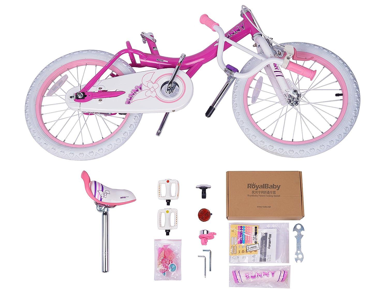 12-14-16-18 inch Wheels Three Colors Available Royalbaby Jenny /& Bunny Girls Bike